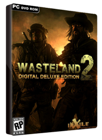 Wasteland 2 Demo CD Case of the Game