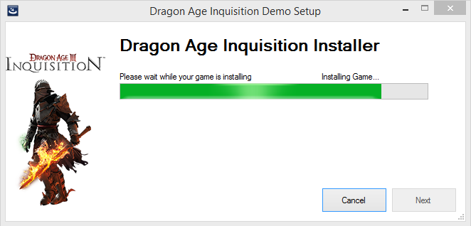 Dragon Age Inquisition Demo