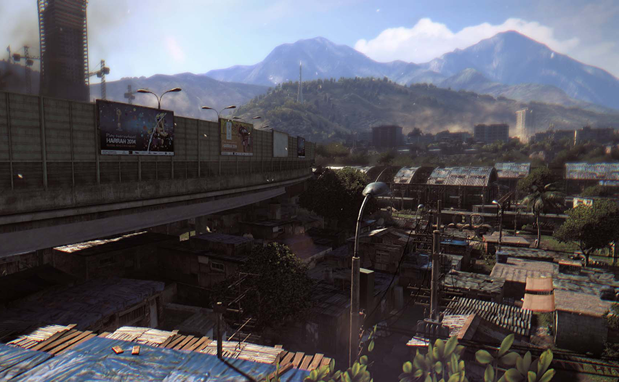 Dying Light Demo World View