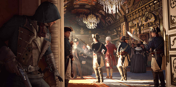 assassins creed unity demo combat with plutocrachy