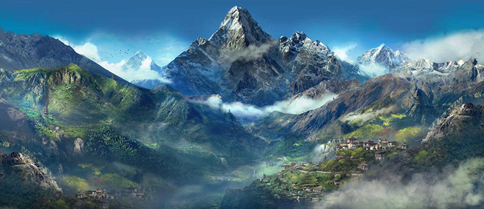 Far Cry 4 Mountains