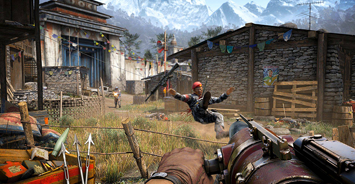 Far Cry 4 Shooting