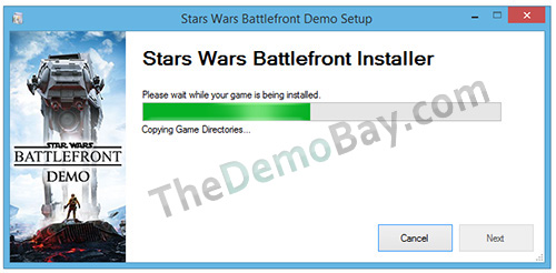 star wars battlefront pc demo installer