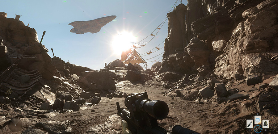 star wars battlefront demo pc version screenshot