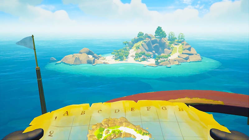 Sea of Thieves Demo Map Island