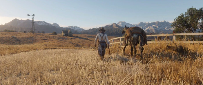 red dead redemption 2 demo screenshot
